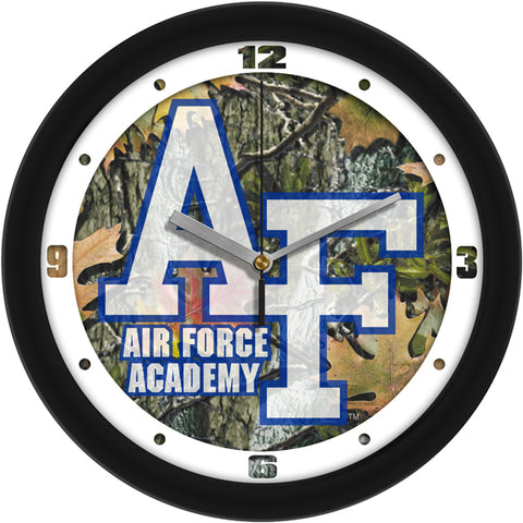 Air Force Falcons-Camo Wall Clock