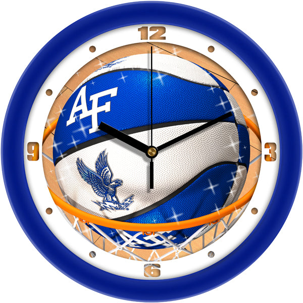 Air Force Falcons - Slam Dunk Wall Clock