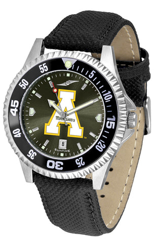 Appalachian State Mountaineers-Competitor AnoChrome - Color Bezel Watch