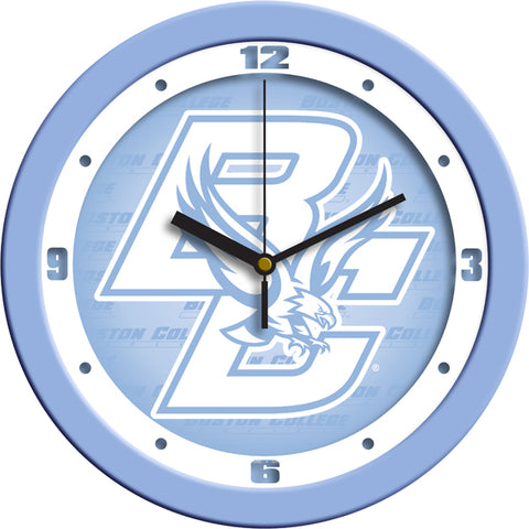 Boston College Eagles-Baby Blue Wall Clock