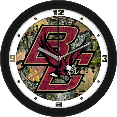 Boston College Eagles - Camo Wall Clock