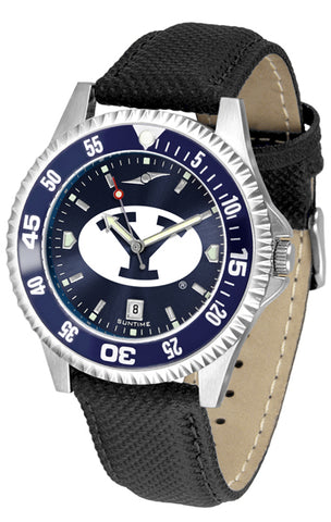Brigham Young Univ. Cougars-Competitor AnoChrome - Color Bezel Watch