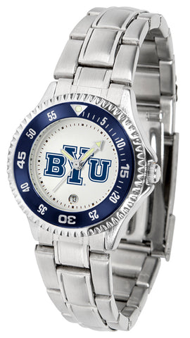 Brigham Young Univ. Cougars-Competitor Ladies Steel Watch