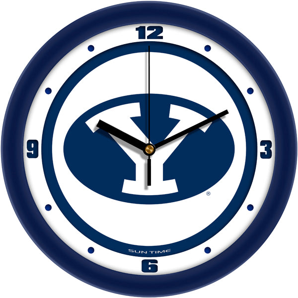 Brigham Young Univ. Cougars - Traditional Wall Clock