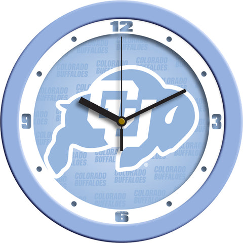 Colorado Buffaloes-Baby Blue Wall Clock