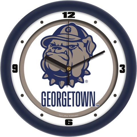 Georgetown Hoyas - Traditional Wall Clock