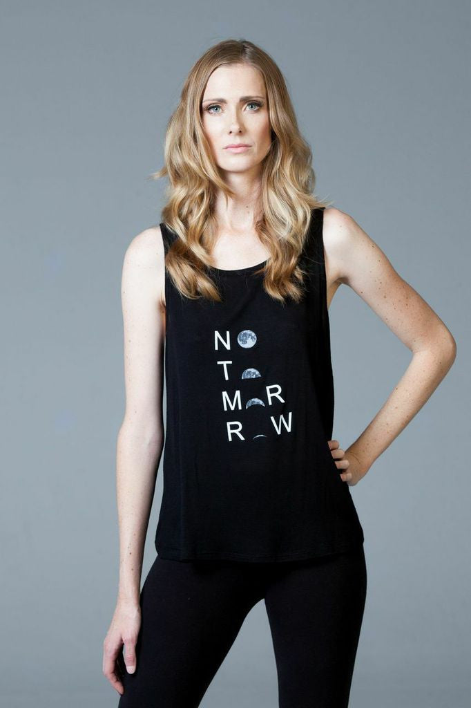 """No Tomorrow"" Open Back Tank - NTYLS"