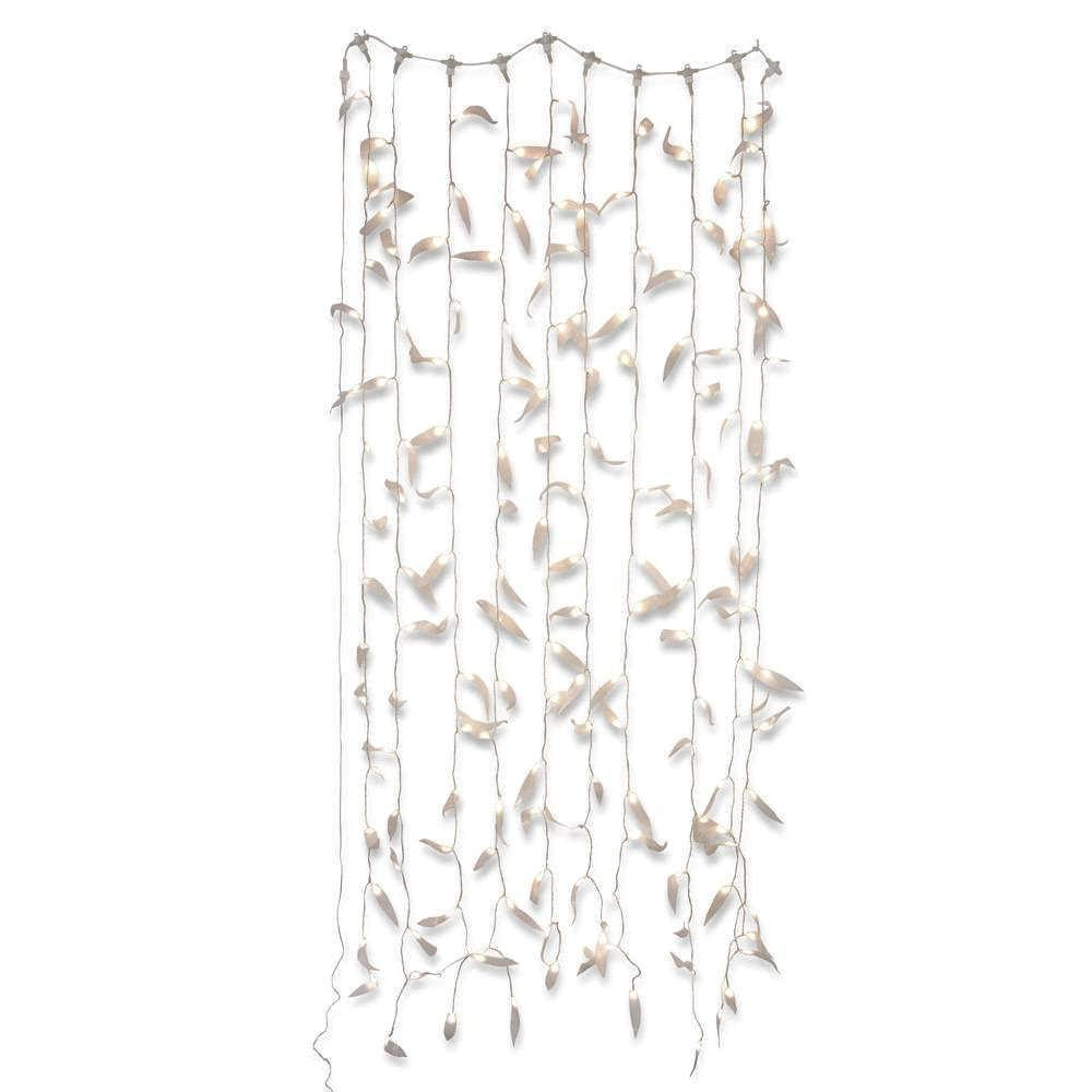Light Curtain Gum Leaf White String Light Delight Decor House Of Little Dreams