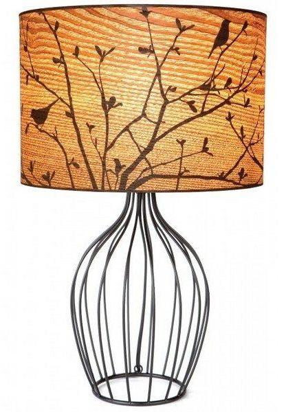 Twitter Wire Table Lamp - Micky & Stevie Table Lamp Night Light