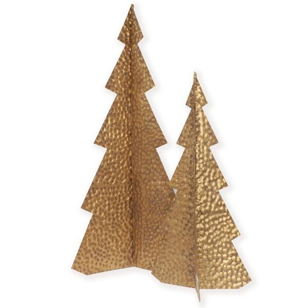Metal Tree Gold Small Christmas Decor Delight Decor House Of Little Dreams