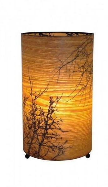 Autumn Cylinder Lamp - Micky & Stevie Table Lamp Night Light