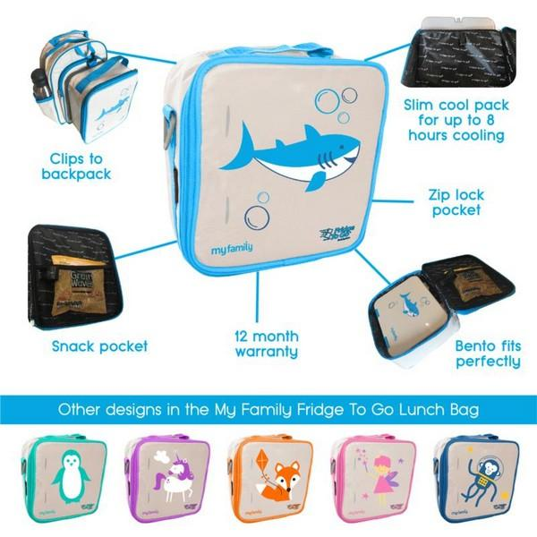 Fairy Fridge to Go Lunch Bag Lunch Boxes and Bags My Family House Of Little Dreams