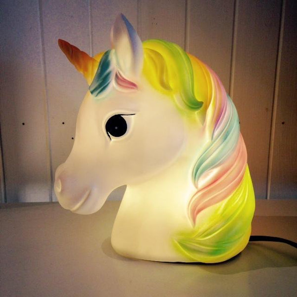 Unicorn Rainbow Table Lamp