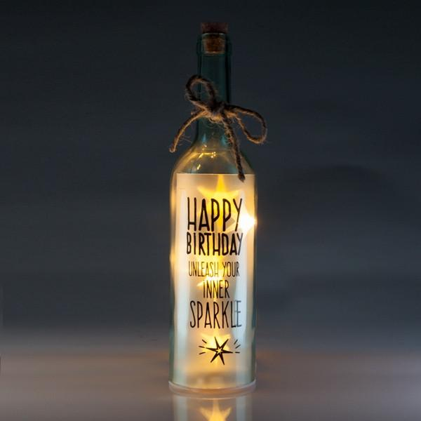 Happy Birthday Wishlight Bottle Home Decor Wishlights House Of Little Dreams