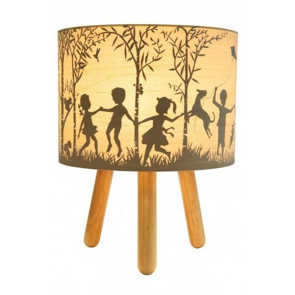 In the Woods Lamp Natural wood