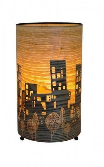 Town Cylinder Lamp - Micky and Stevie Table Lamp Night Light