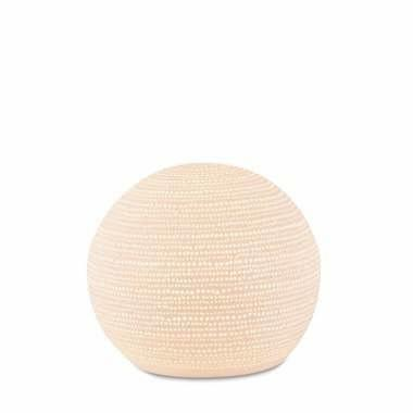 Ceramic Sphere Dot Lamp