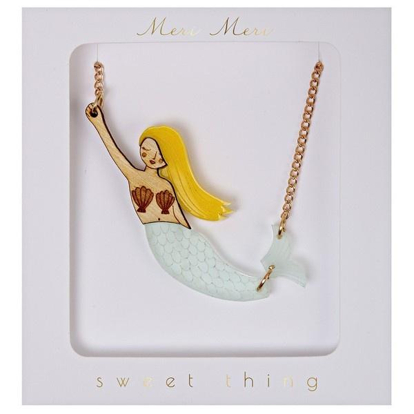 Meri Meri Mermaid Necklace Jewellery Meri Meri House Of Little Dreams
