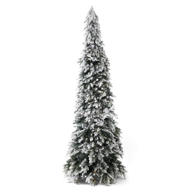 Pencil Snow Tree - Extra Large with 500 LEDs
