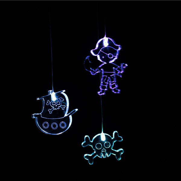 Mobile Pirate with timer Mobiles Night Light
