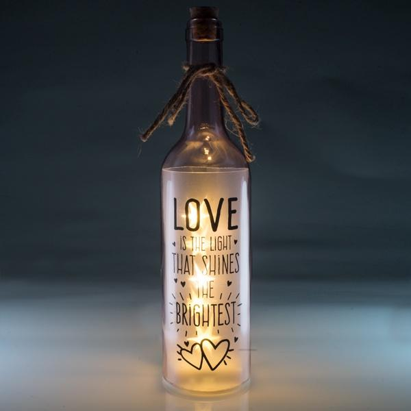 Love Wishlight Bottle