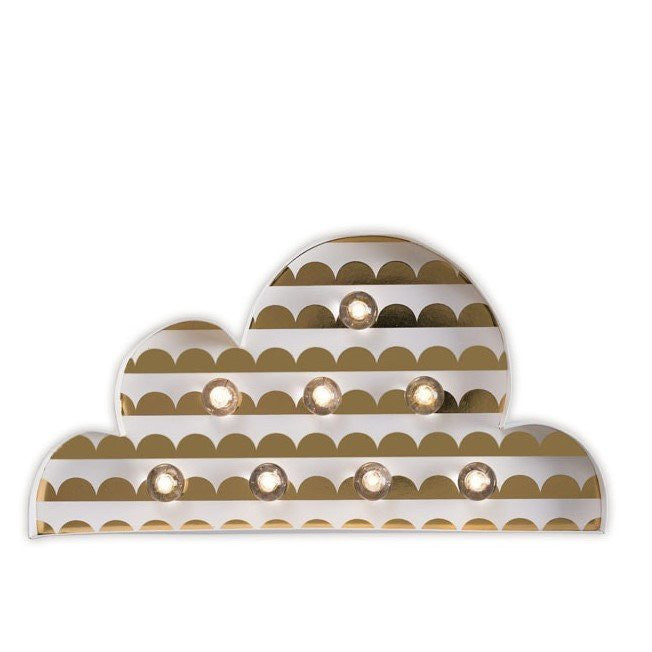 Little Paper Co Cloud Marquee Light Night Light