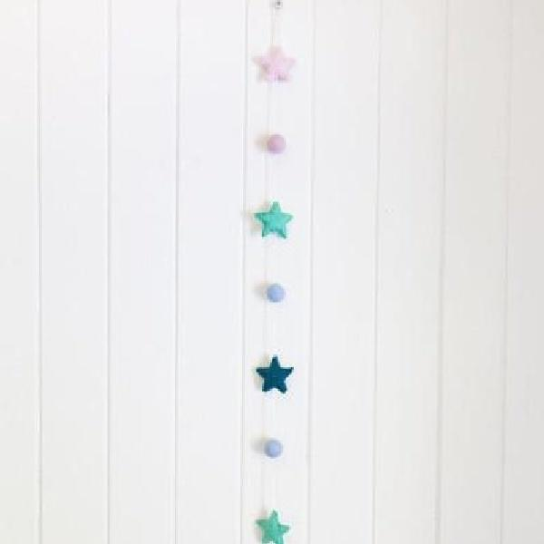 Felt drop Garland - Under the Sea - Mermaid