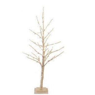 Gold Glitter Tree - Medium 90cm / 78 LEDs Christmas Trees Delight Decor House Of Little Dreams