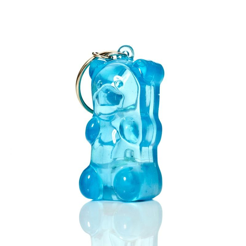 Gummybear LED Keyring - Blue Fun Light Ups Gummygoods House Of Little Dreams