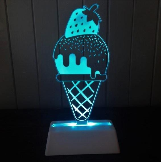 Night Light Ice Cream