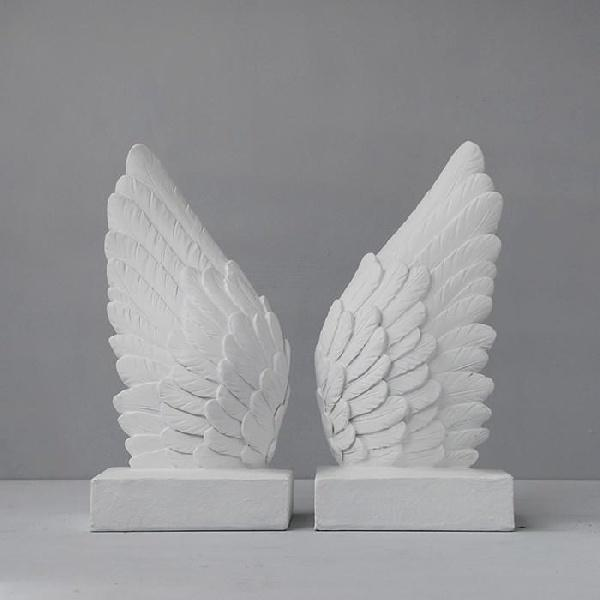 Wings Bookends