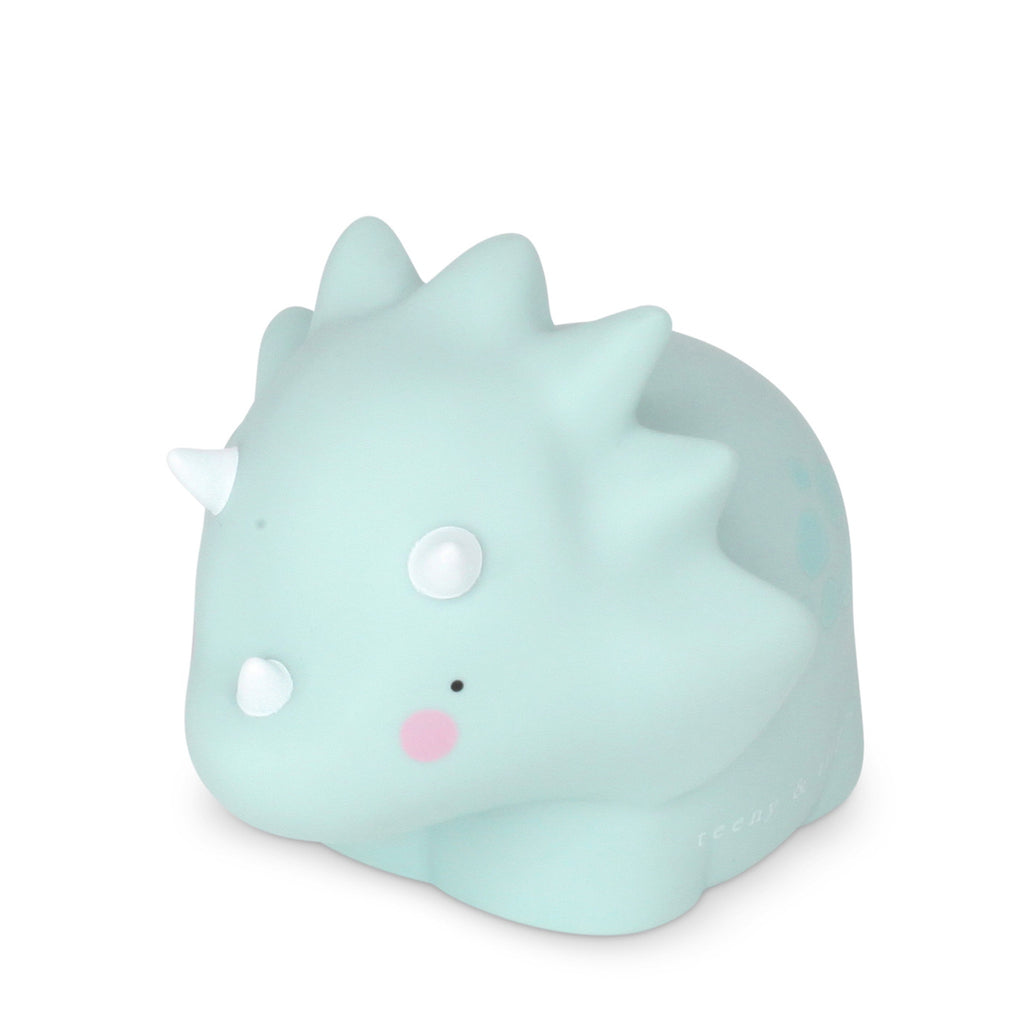 Triceratops Little Light Up Sage Green
