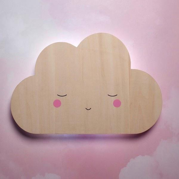 Little Dreams Silhouette Cloud Wall Light Little Dreams House Of Little Dreams