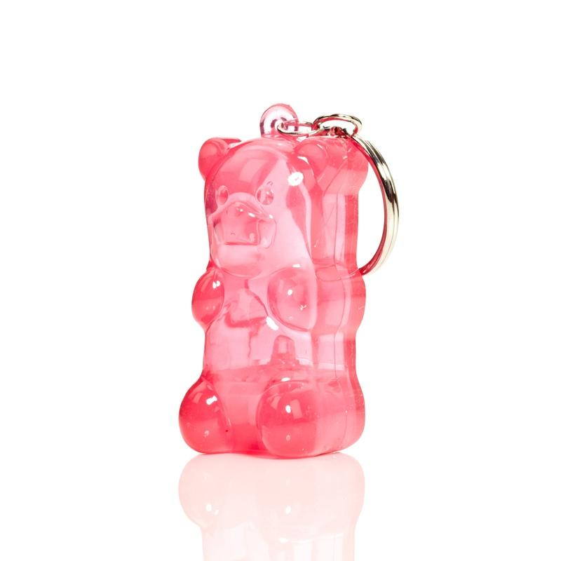 Gummybear LED keyring Pink Fun Light Ups Gummygoods House Of Little Dreams