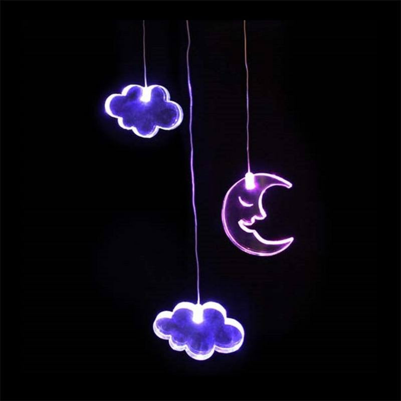 Mobile Moon Clouds w timer Mobiles Delight Decor House Of Little Dreams