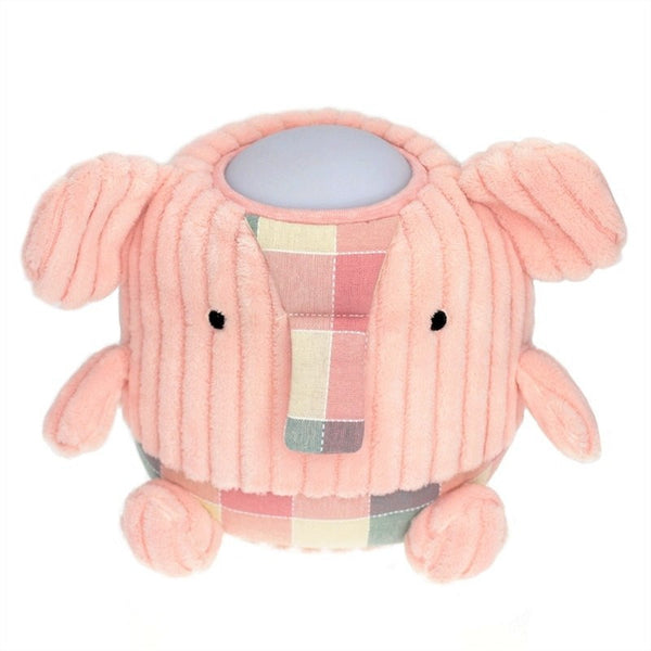 Hugglo Elephant Pink Plush light Night Light