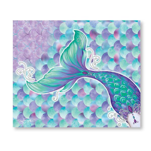 Mermaid Throw Blanket Kids Decor Lisa Pollock House Of Little Dreams