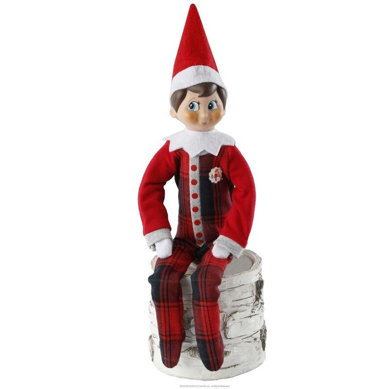 Claus Couture Collection: Fa-La-La Footie Pajamas Christmas Decorations Elf on the Shelf House Of Little Dreams