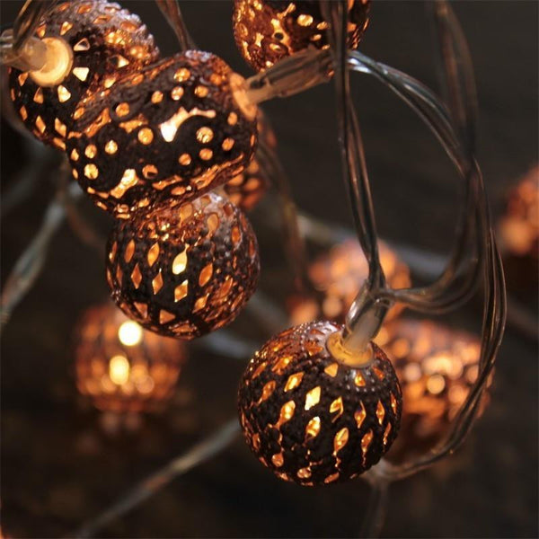 Electric Maroq Copper Electric String Night Light