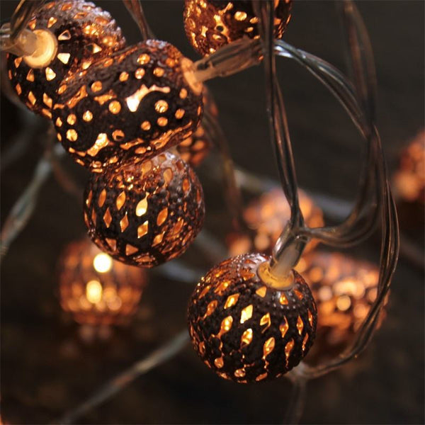 Maroq Copper - Battery Battery String Night Light