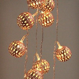 Grand Maroq Copper - Electric String Light Delight Decor House Of Little Dreams