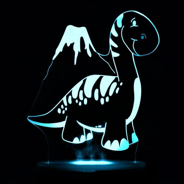 Safe LED Dinosaur Designer Night Light