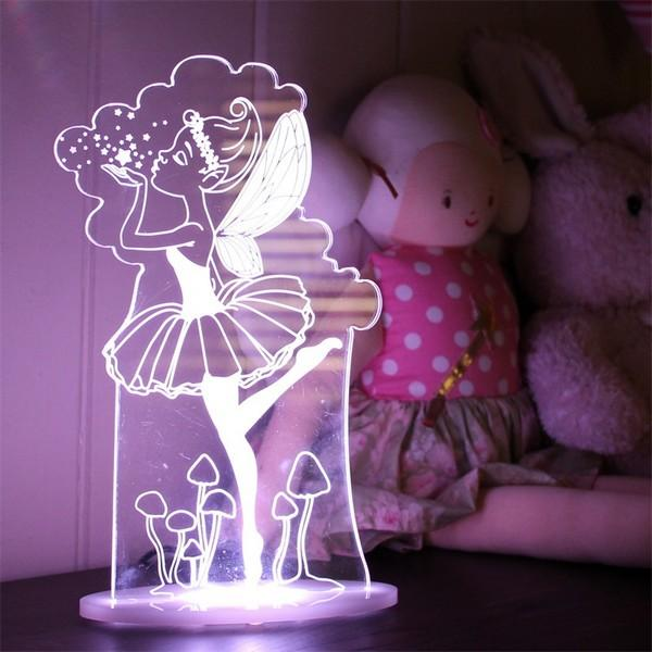 Safe Nursery LED Night Light Baby Girl