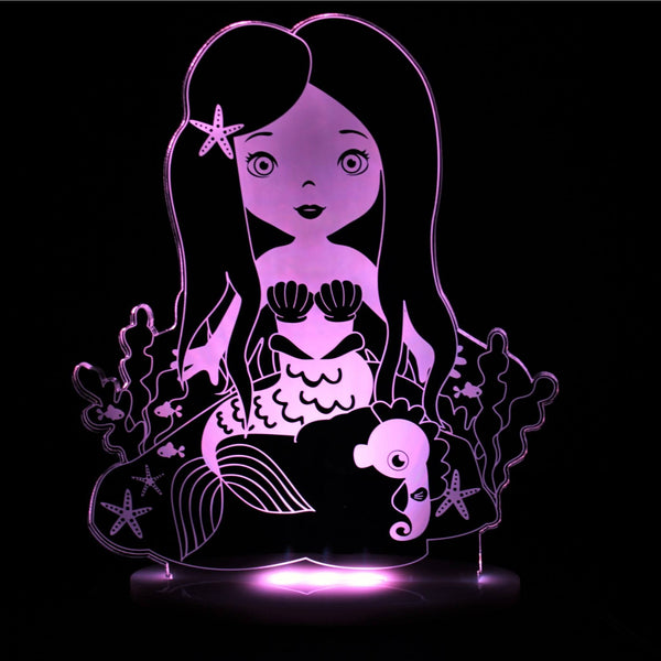 My Dream Light Mermaid Kids Lamps Night Light