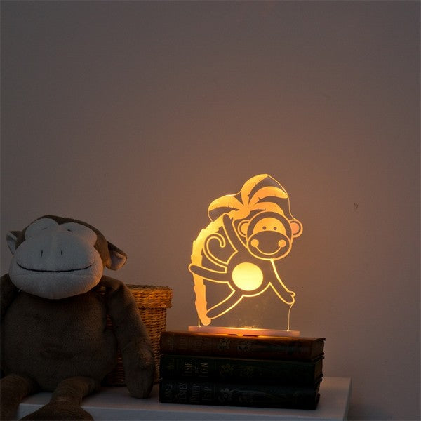 My Dream Light Monkey Nightlight