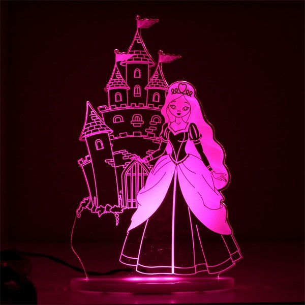 My Dream Light Princess Nightlight