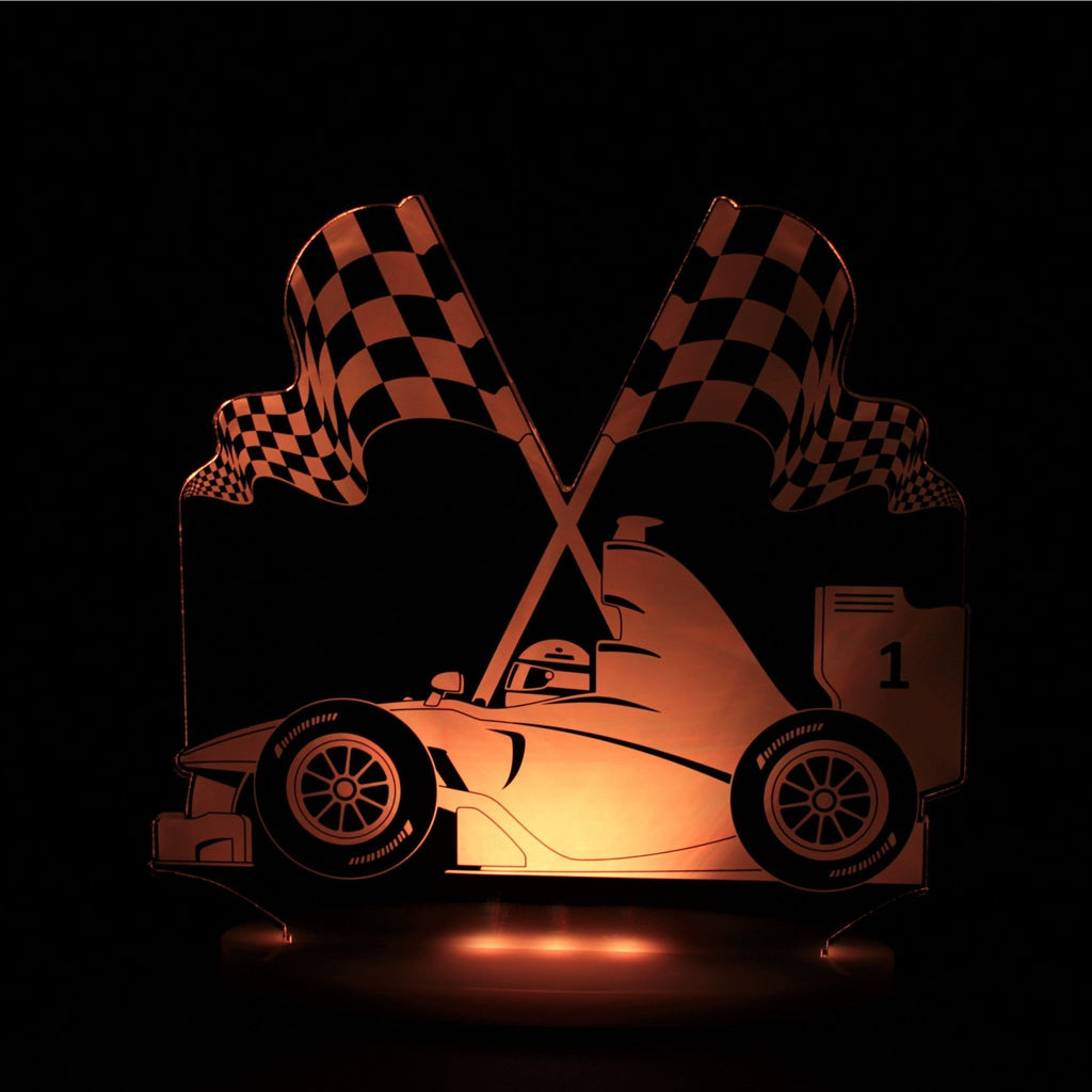 My Dream Light Race Car Kids Lamps Night Light