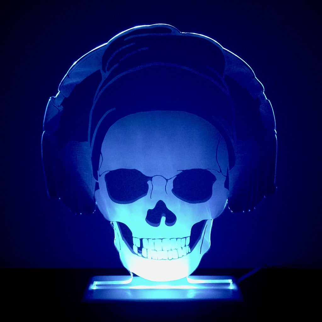 Skull Night Light Lamp Delight Decor House Of Little Dreams