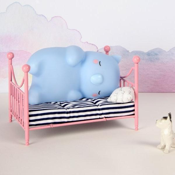 Wombat Small Blue Fun Light Ups Teeny & Tiny House Of Little Dreams