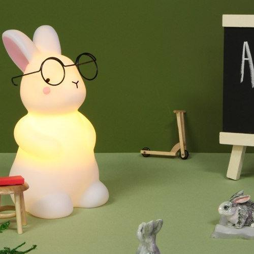Bunny Light Small White Fun Light Ups Teeny & Tiny House Of Little Dreams